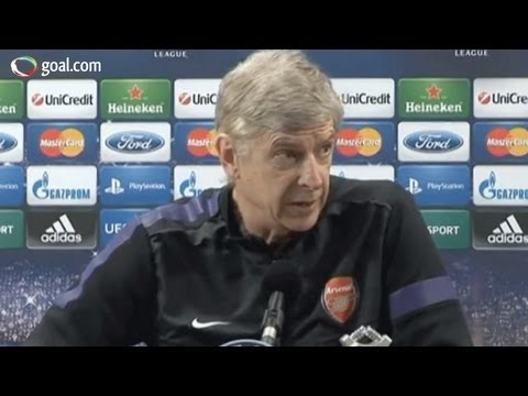 Arsene Wenger goes CRAZY at journalists