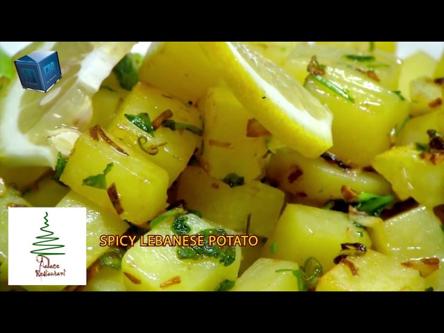 How to Cook  SPICY LEBANESE POTATO@Palace Restaurant