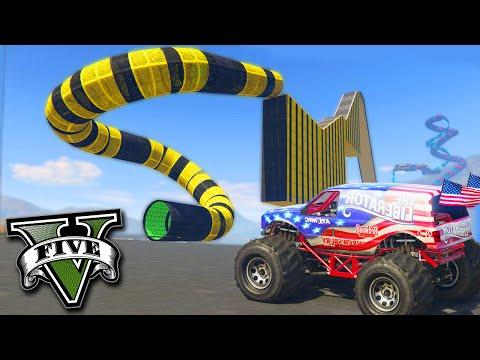 GTA V Online: A PISTA OFF-ROAD da MACUMBA!!!