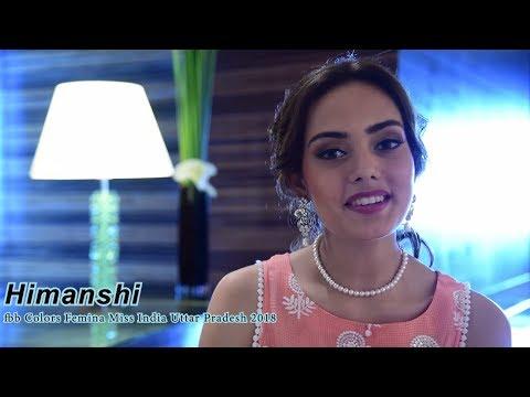 Introducing fbb Colors Femina Miss India Uttar Pradesh 2018 Himanshi
