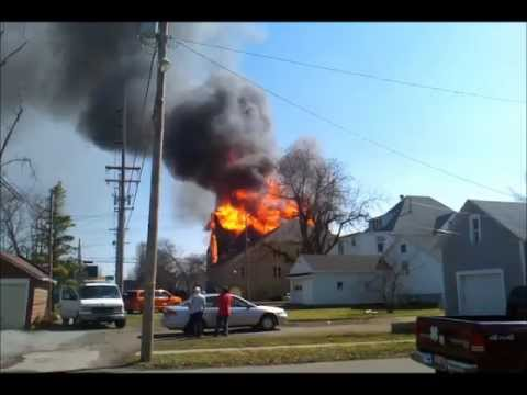 Ada First United Methodist Church Fire