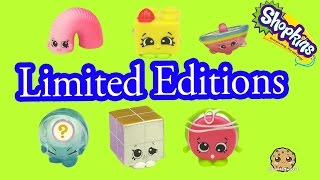 All 6 Season 5 Shopkins Tiny Toys Limited Edition Complete Set Blind Bag Opening - Cookieswirlc thumbnail