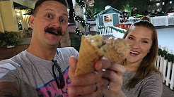 Now Snowing In Celebration, Florida Date Night! | Cookie Dough In A Cone & Lots Of Snoap!
