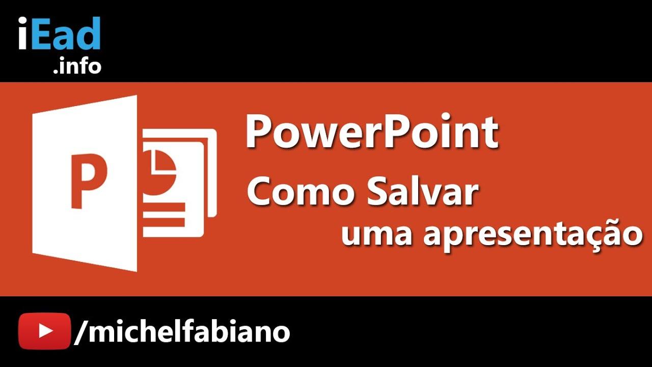Apresentacao de powerpoint