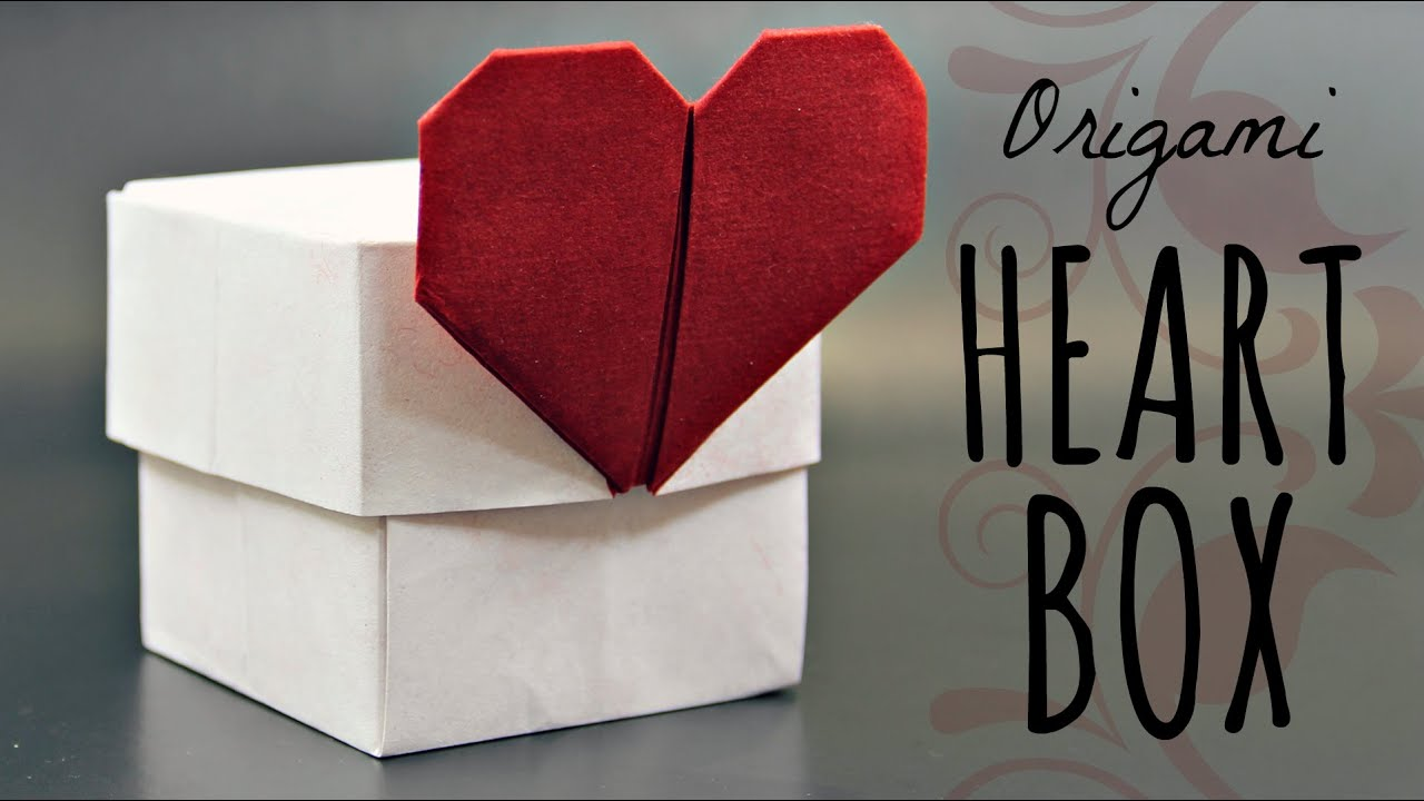 How to make an origami Heart Box (Tadashi Mori) - YouTube - photo#28
