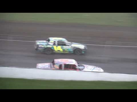 IMCA Hobby Stock feature Benton County Speedway 6/4/17