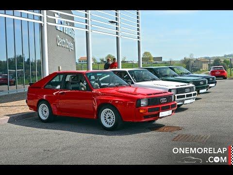 "Audi Sport quattro ""Urquattro"" - Onboard, Sound & Acceleration"