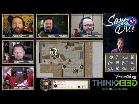 Save or Dice | Episode 5 - The Master Plan | Web DM, Nerdarchy, Taking20, DawnforgedCast
