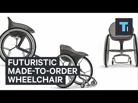 Futuristic made-to-order wheelchair