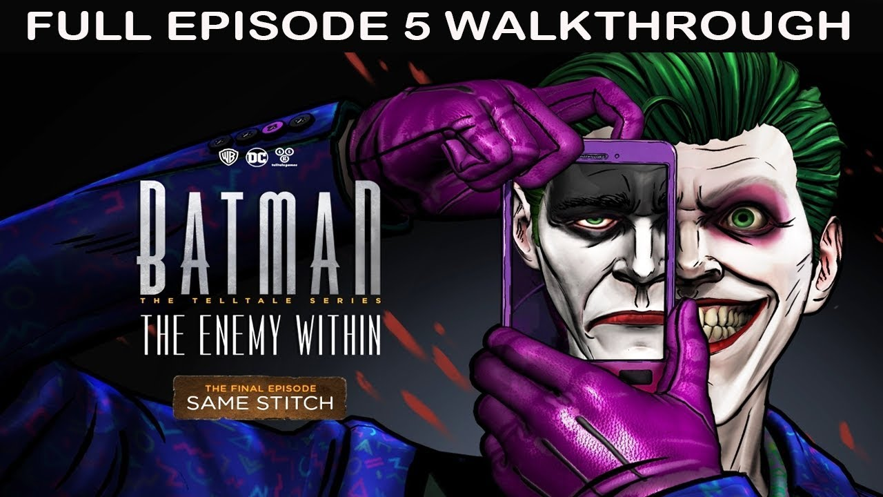 Batman: The Telltale Series - The Enemy Within Game Guide ...
