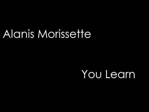 Alanis Morissette - You Learn (lyrics)