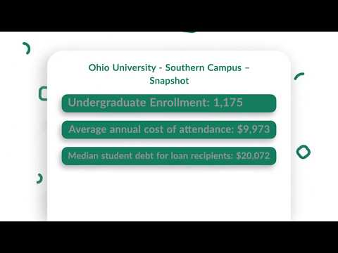 Ohio University Southern Campus Tuition, Admissions, News & more
