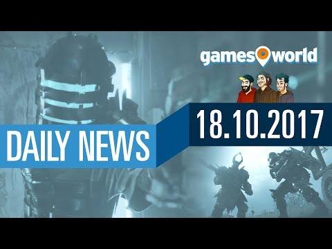 Visceral Games, PUBG 1.0 Release, Battlefield 1 Turning Tides | Gamesworld Daily News - 18.10.2017