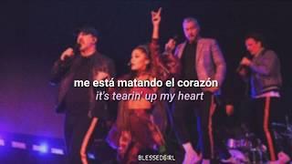 ariana grande feat. nsync - tearin' up my heart (live) (sub. español - inglés)