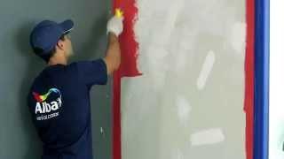 Cómo pintar cielorasos y paredes de interior - ALBA