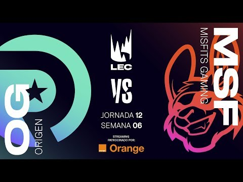 ORIGEN vs MISFITS GAMING | LEC | Spring Split [2019] League of Legends
