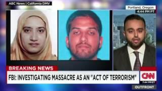 CNN: Ahmadiyya Muslim Community spokesperson @Harris_Zafar talks about San Bernardino shooting