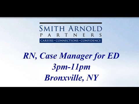 Rn Case Manager For Ed 3pm