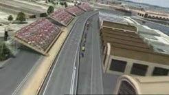 F1 Strecke: Virtuelle Runde in Valencia, Spanien 2009