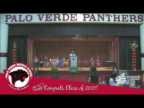 Palo Verde Middle School 8th Grade Promotion 2021 - Tigers and Cheetahs Teams