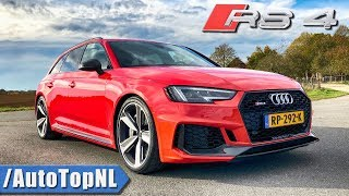 Audi RS4 2019 B9 Review by AutoTopNL (English Subtitles)