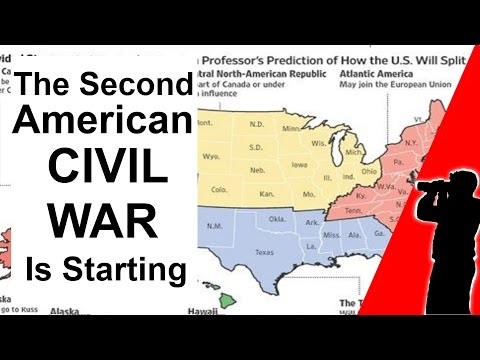 The Second American Civil War is Starting