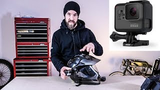Where to mount your GOPRO on a motorcycle