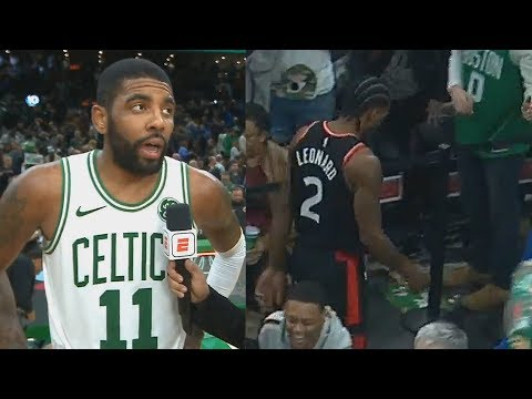 Kyrie Irving Shows Kawhi Leonard He's King Of The East & Takes Over! Celtics vs Raptors