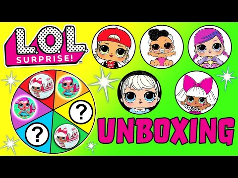 LOL Doll Spin The Wheel Game featuring Rare Gold Ball, Toy Surprises, Sugar Queen MC Swag & More!
