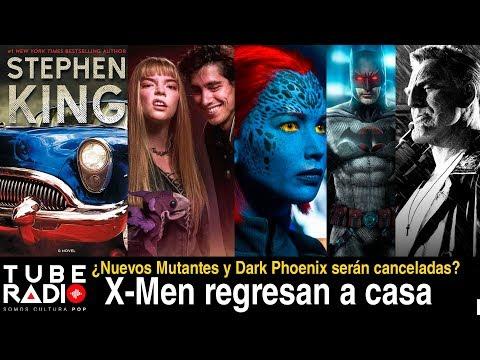 Tube Radio NEWS: New Mutants, Dark Phoenix, Buffy, Batman, Altered Carbon, Castlerock