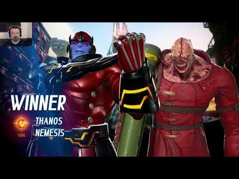 MvC Infinite: Week 2 Online Play pt26 - vs. Frank West/Ghost Rider (WOW!) - 동영상