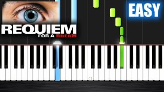 Download Requiem for a Dream - EASY Piano Tutorial by PlutaX - Synthesia Mp3 and Videos