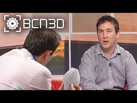 "BCN3D Interviews - Roger Uceda at ""Para Todos La 2"" talking about the BCN3D+"
