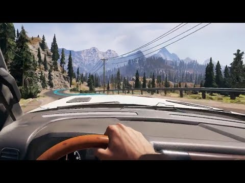 HOW BIG IS THE MAP in Far Cry 5? Drive Across the Map