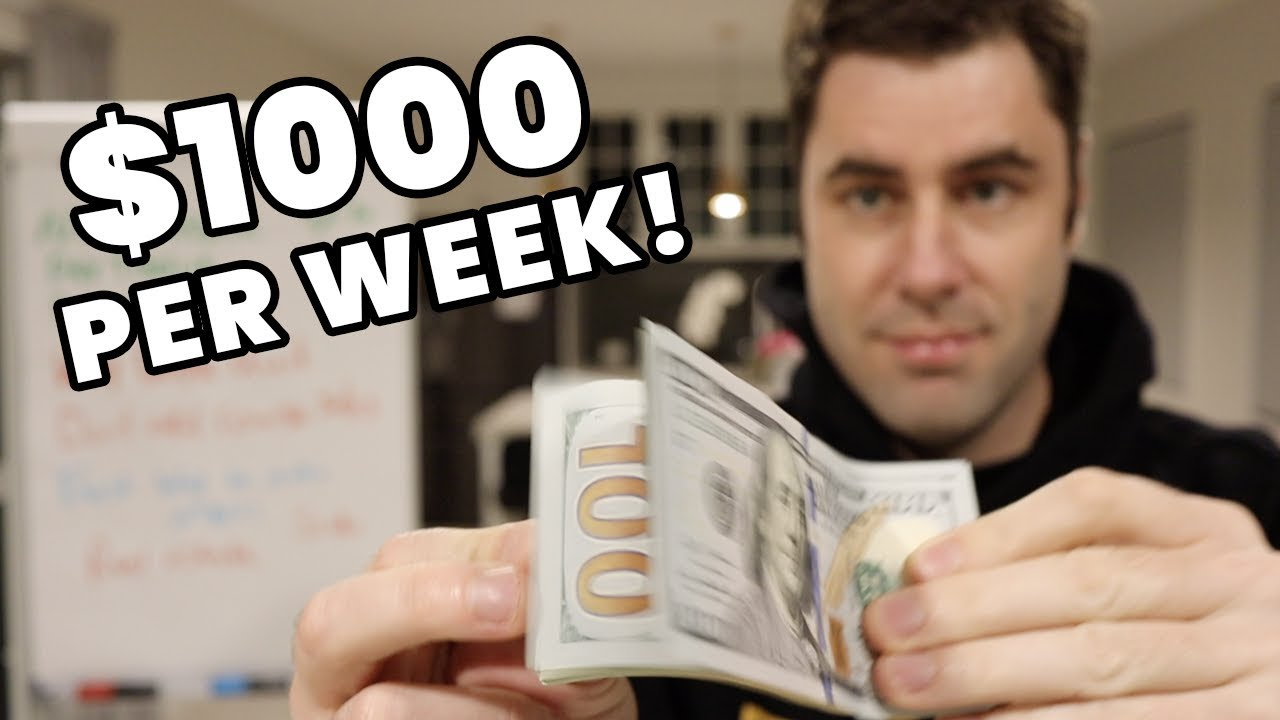 Make $1,000 Per Week Online & Earn Money With NO JOB!