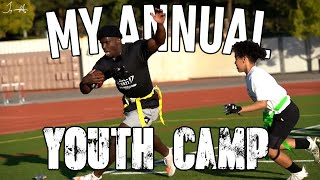 MY ANNUAL YOUTH CAMP!! | Tyreek Hill Vlogs