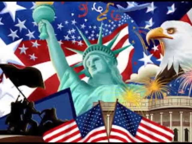"""""""WE LOVE THE USA"""" by ANNEMARIE PICERNO"""