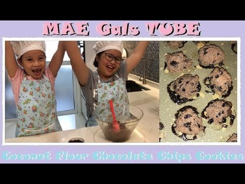 Coconut Flour Chocolate Chips Cookies  MAE Gals TUBE