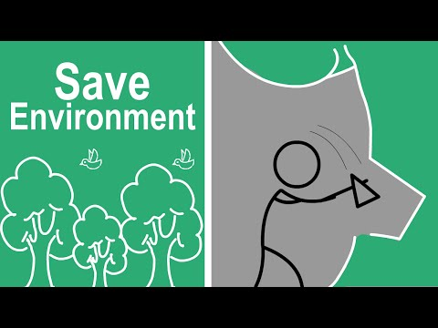 Save Environment - Cel Animation, Animated Short Story, video,Film  for kids and all