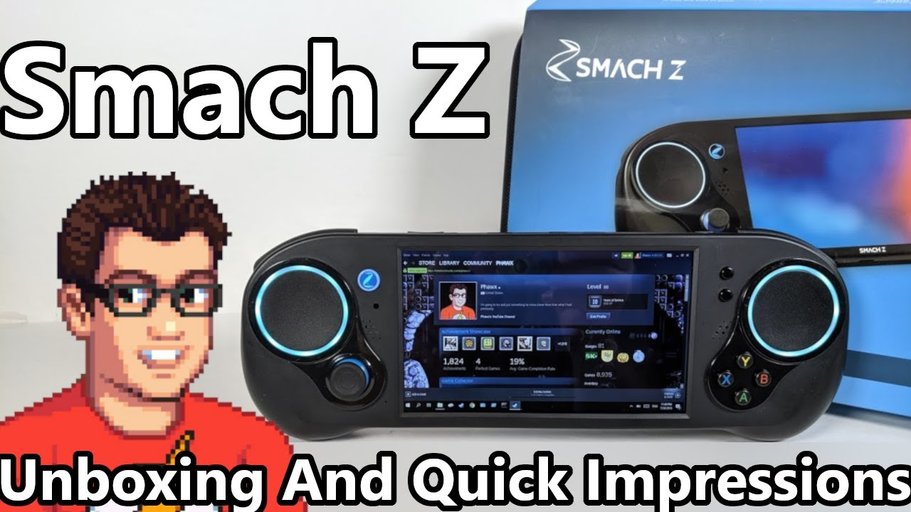 SMACH Z - Unboxing And Quick Impressions