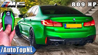 809HP BMW M5 F90 | SK Performance | REVIEW POV on AUTOBAHN (NO SPEED LIMIT) by AutoTopNL