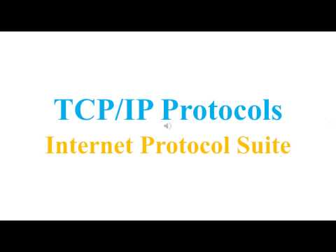 TCP/IP Protocols - Internet Protocol Suite (V1)