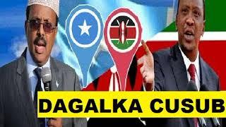 WAR DEG DEG AH :Kenya oo xariirk u jartay somalia ka dib...