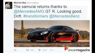 메르세데스 AMG GT R 트랜스포머 �토봇 합�