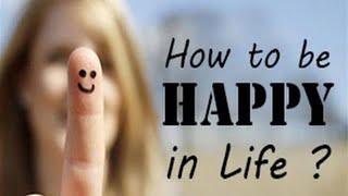 Como alcançar felicidade na vida?