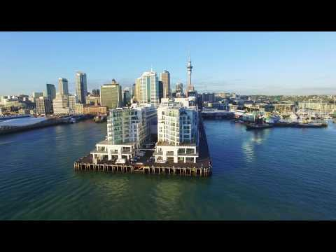 Amazing DRONE FOOTAGE of Auckland CIty