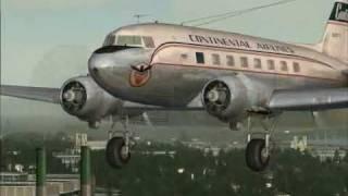 Douglas Dc-3. Видеоклип об этом легендарном лайнере всех времён и н...