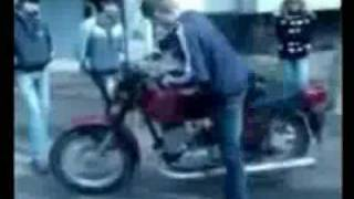 Еще один придурок на мотоцикле
