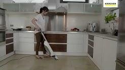 Katso miten lattiapesuri toimii!