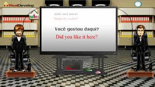 learn Portuguese phrases vocabulary 1 Portuguese video tutorial for beginners